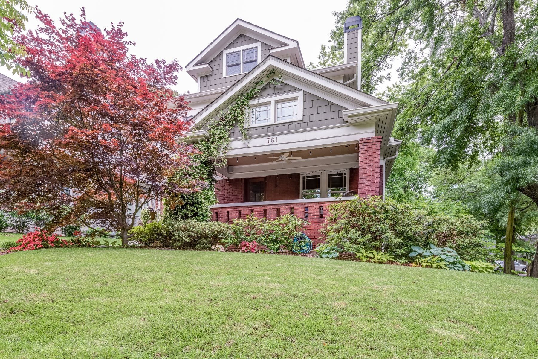 Single Family Home for Sale at Renovated Craftsman On Coveted Corner Lot With Three Spacious Living Levels 761 Virginia Cirlce Atlanta, Georgia 30306 United States