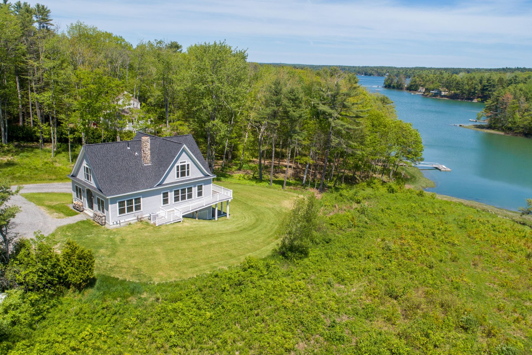 Single Family Homes for Active at 36 Perry Lane Harpswell, Maine 04079 United States