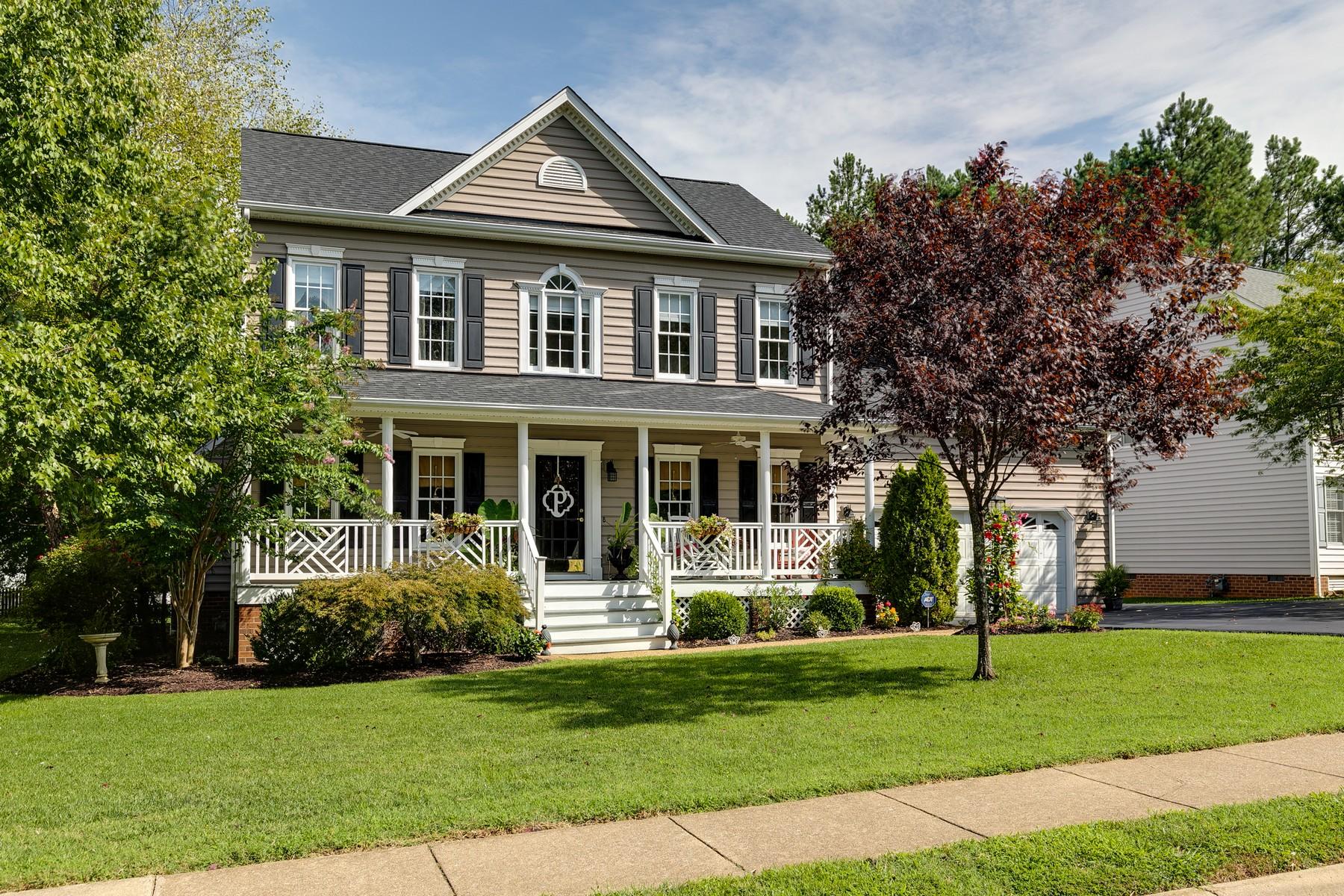 Single Family Homes por un Venta en 9007 Kings Charter Drive Mechanicsville, Virginia 23116 Estados Unidos