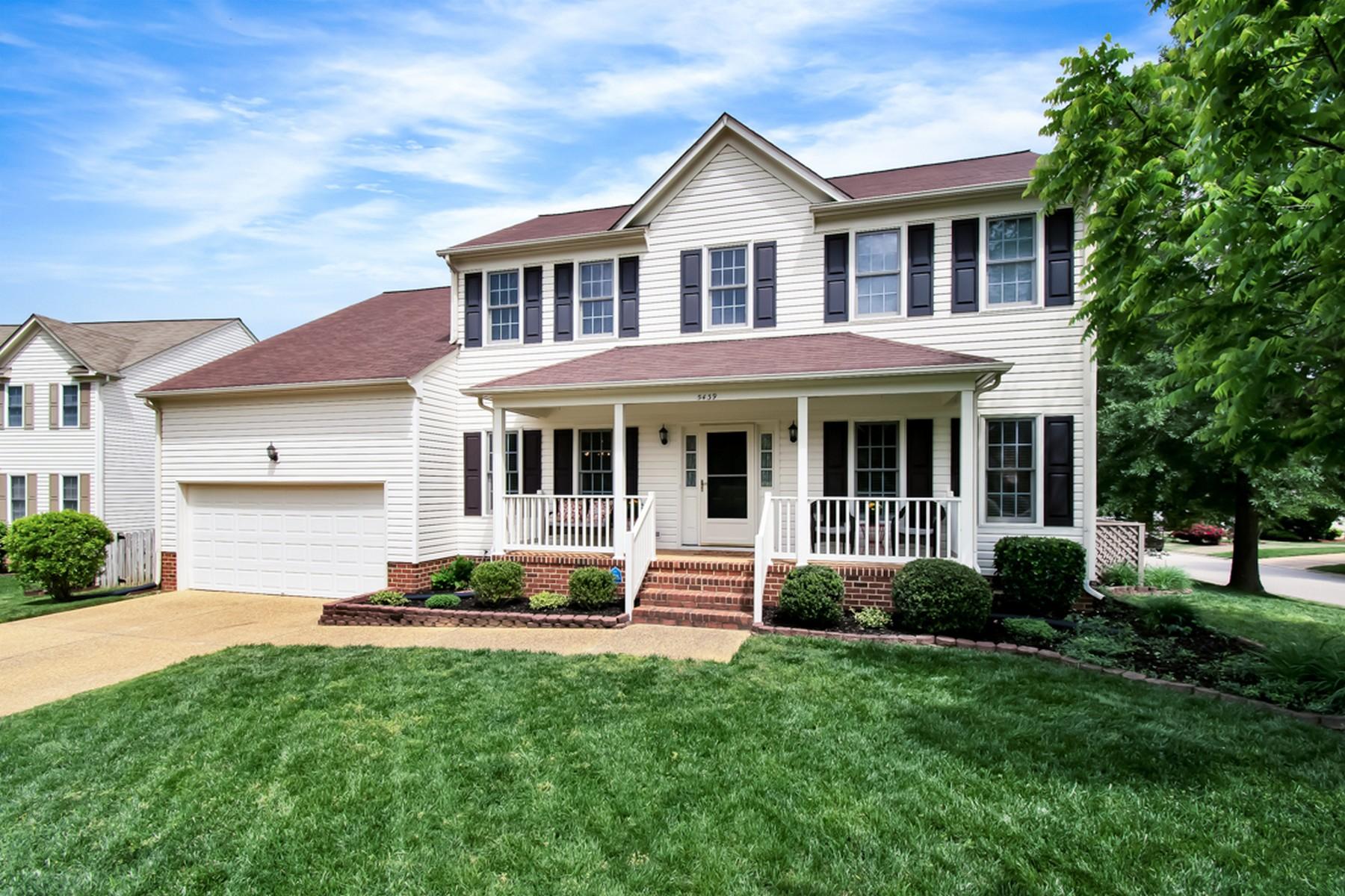 Single Family Homes por un Venta en 5439 Wm Ludwell Lee Williamsburg, Virginia 23188 Estados Unidos