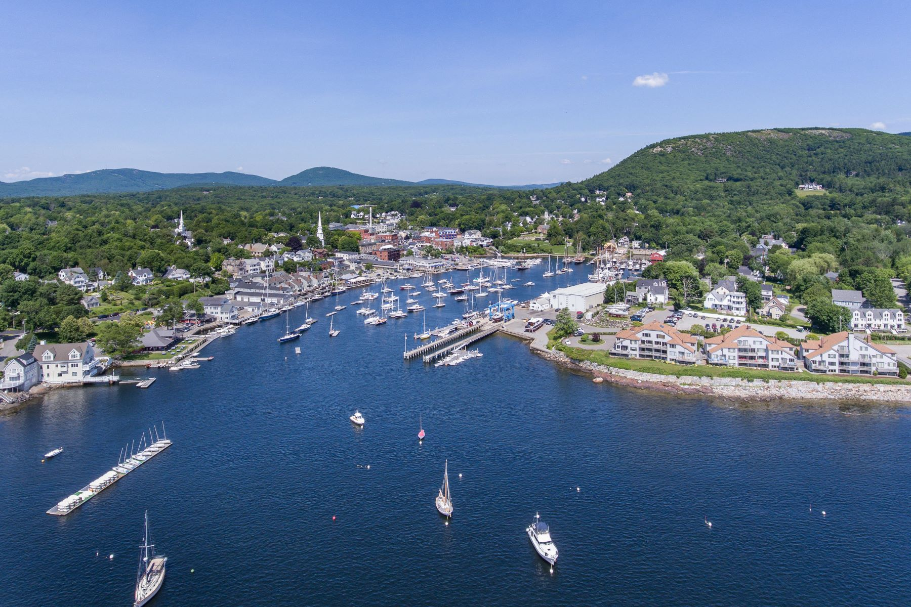 Condominiums for Sale at 13 Ocean Way 13 Camden, Maine 04843 United States