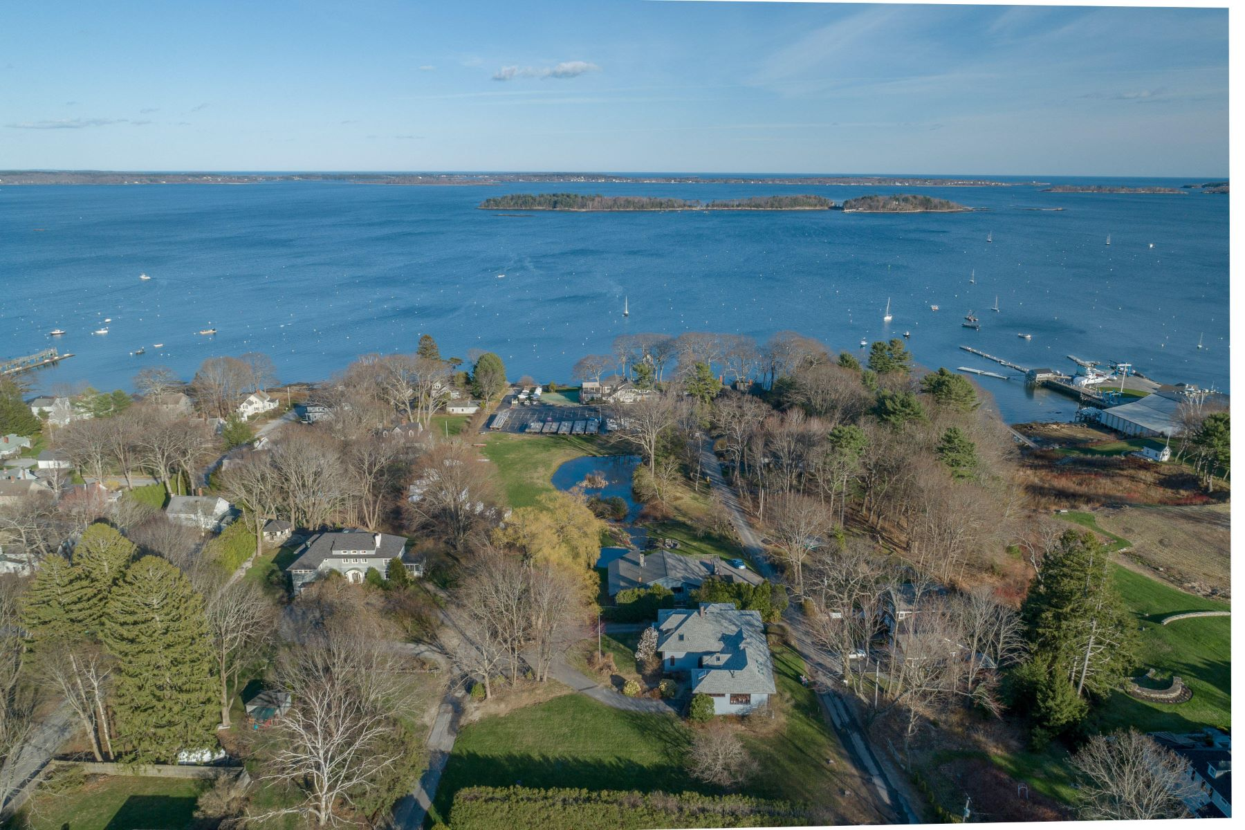Single Family Homes for Sale at 241 Foreside Road Falmouth, Maine 04105 United States