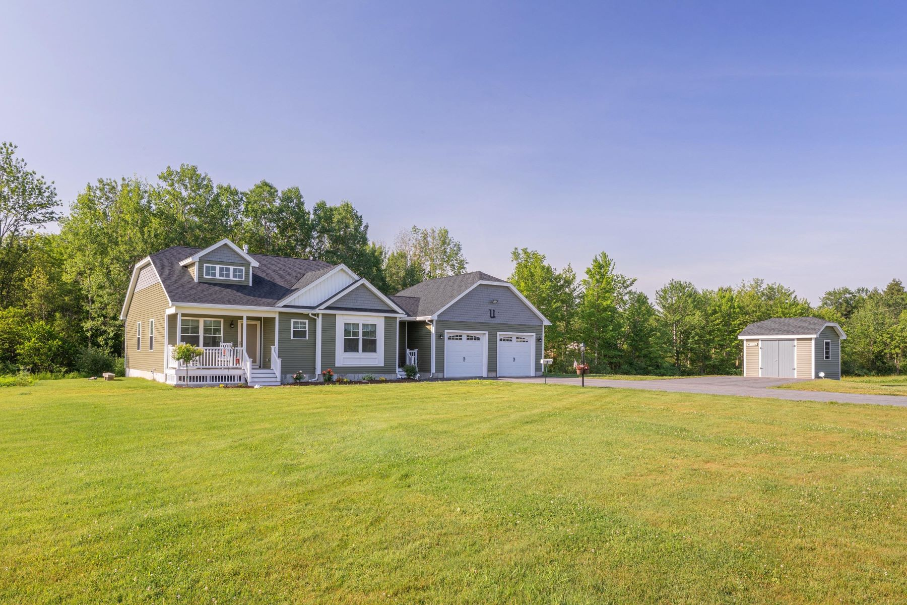 Single Family Homes for Sale at 319 Portland Road Buxton, Maine 04093 United States