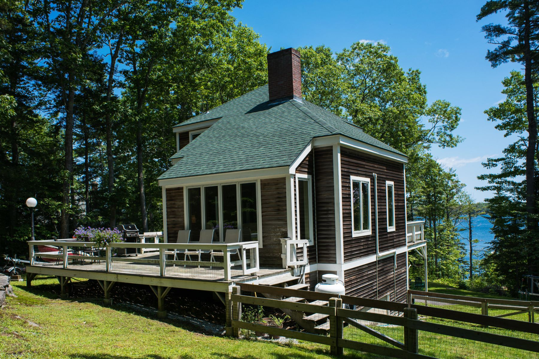 Single Family Homes for Sale at 43 Birch Road Boothbay Harbor, Maine 04538 United States