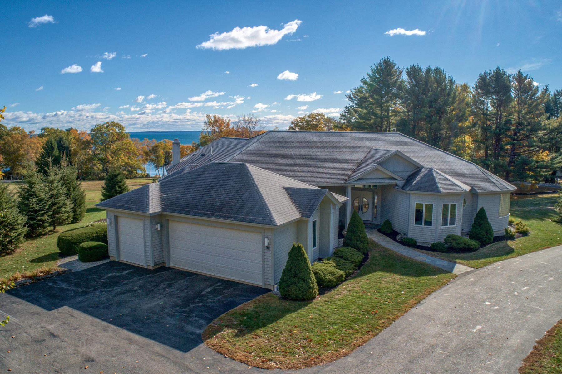 Single Family Homes por un Venta en 86 Eastward On The Ocean Rockport, Maine 04856 Estados Unidos