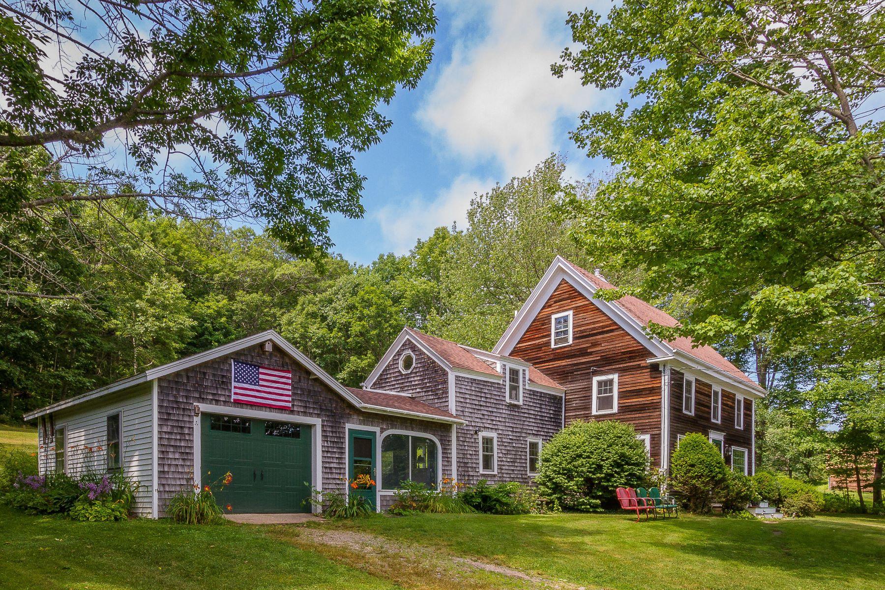 Single Family Homes por un Venta en 331 East Side Road Boothbay, Maine 04571 Estados Unidos