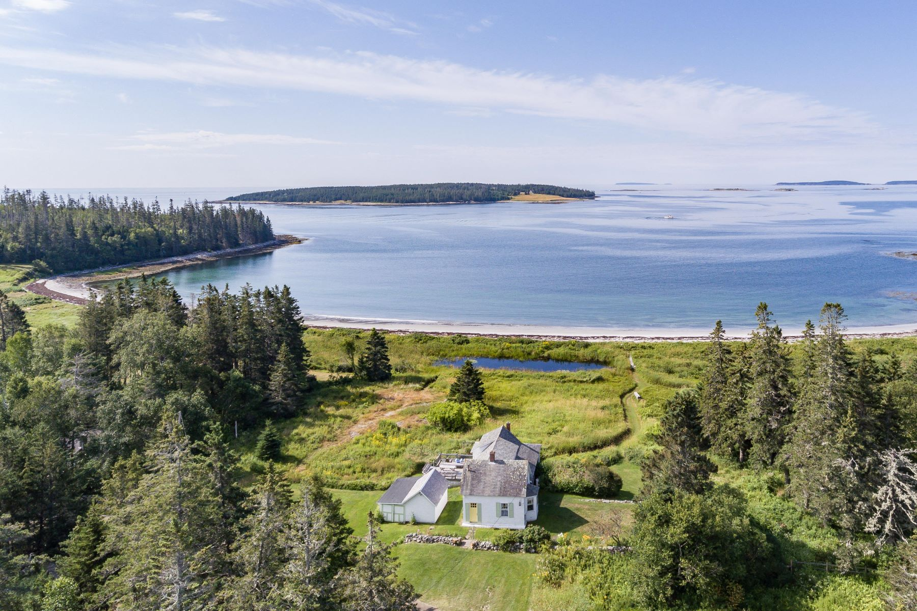 Single Family Homes for Active at 123 Mosquito Head Road St. George, Maine 04860 United States