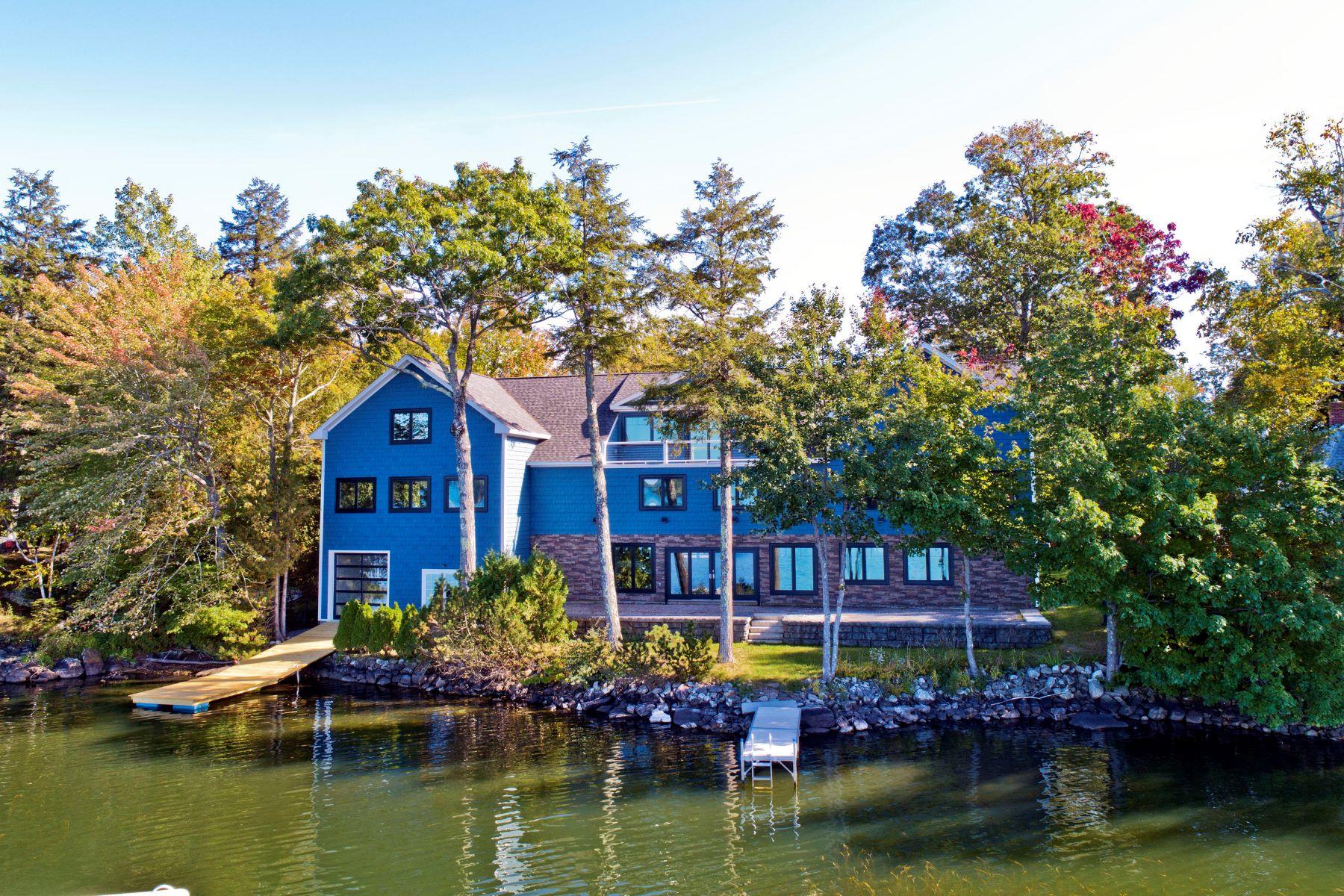 Single Family Homes por un Venta en 5-7 Sunset Lane West Gardiner, Maine 04345 Estados Unidos