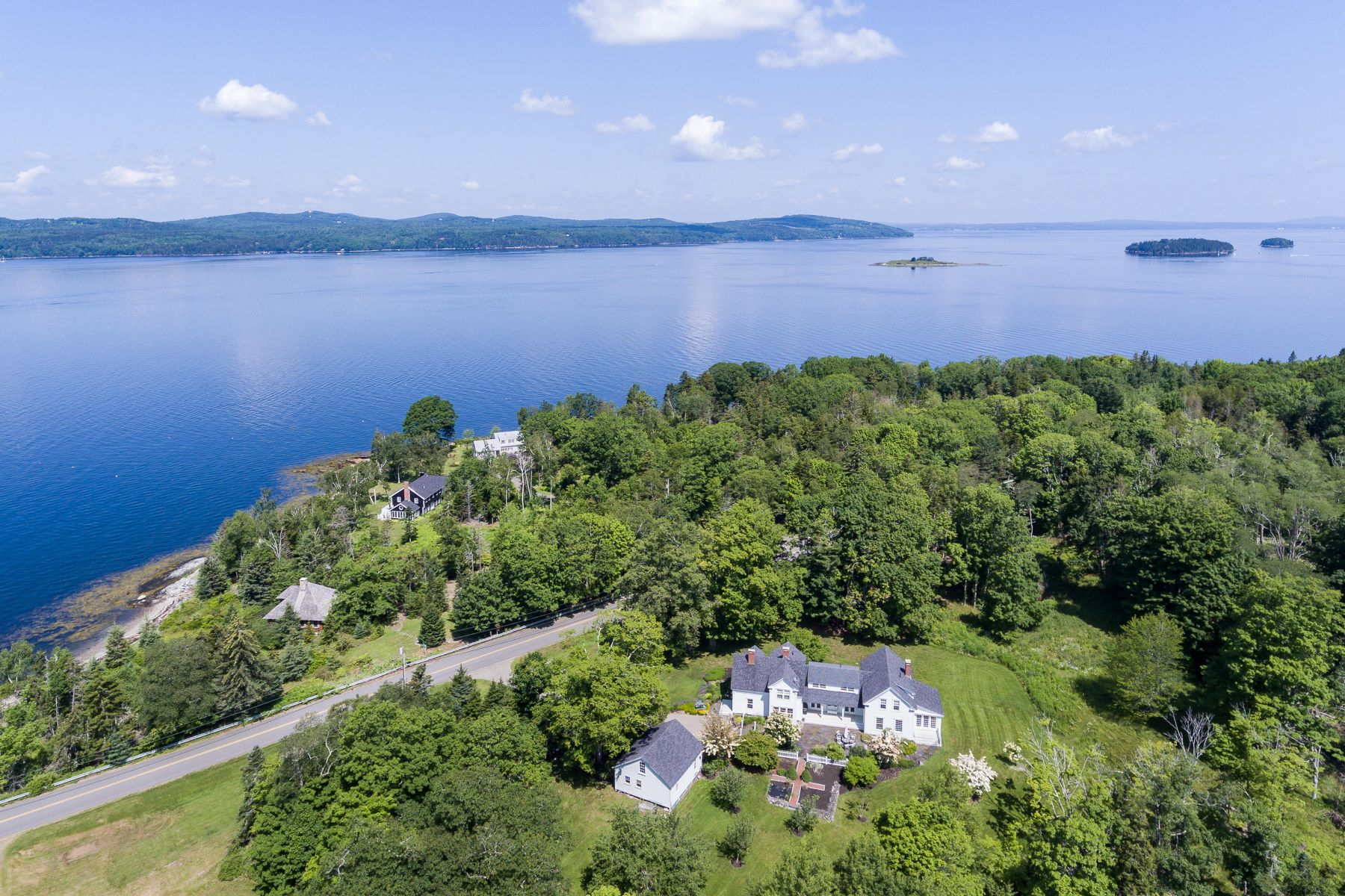 Single Family Homes for Active at 391&400 West Bay Road Islesboro, Maine 04848 United States