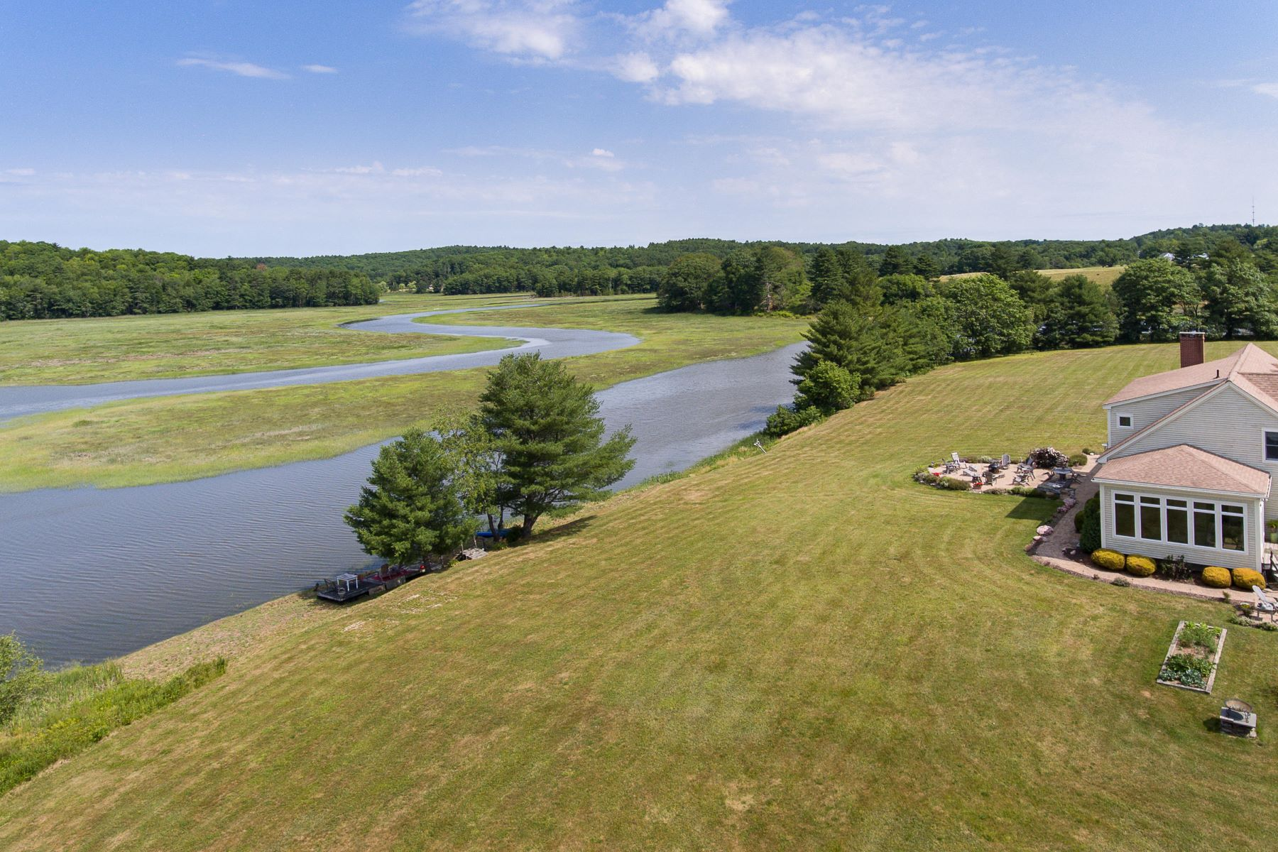 Single Family Homes for Sale at 219 Lynch Road Newcastle, Maine 04553 United States