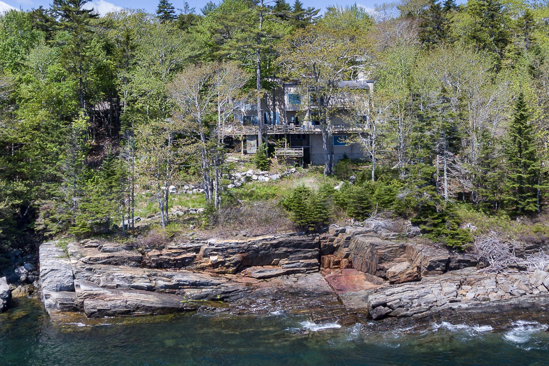 Single Family Homes for Sale at 154 King Phillips Trail Boothbay, Maine 04544 United States