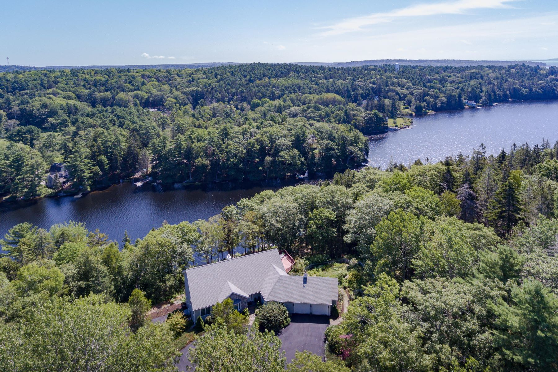 Single Family Homes for Sale at 236 Lakeside Drive Boothbay Harbor, Maine 04538 United States
