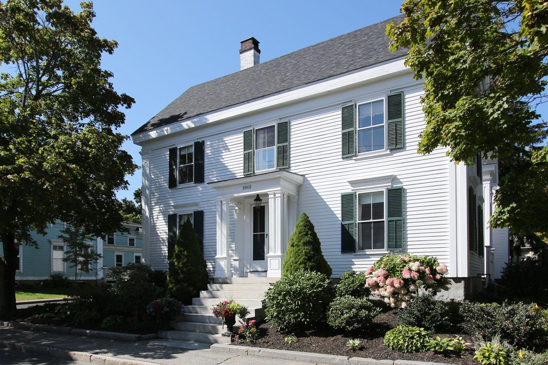 Single Family Homes for Sale at 1062 Washington Street Bath, Maine 04530 United States