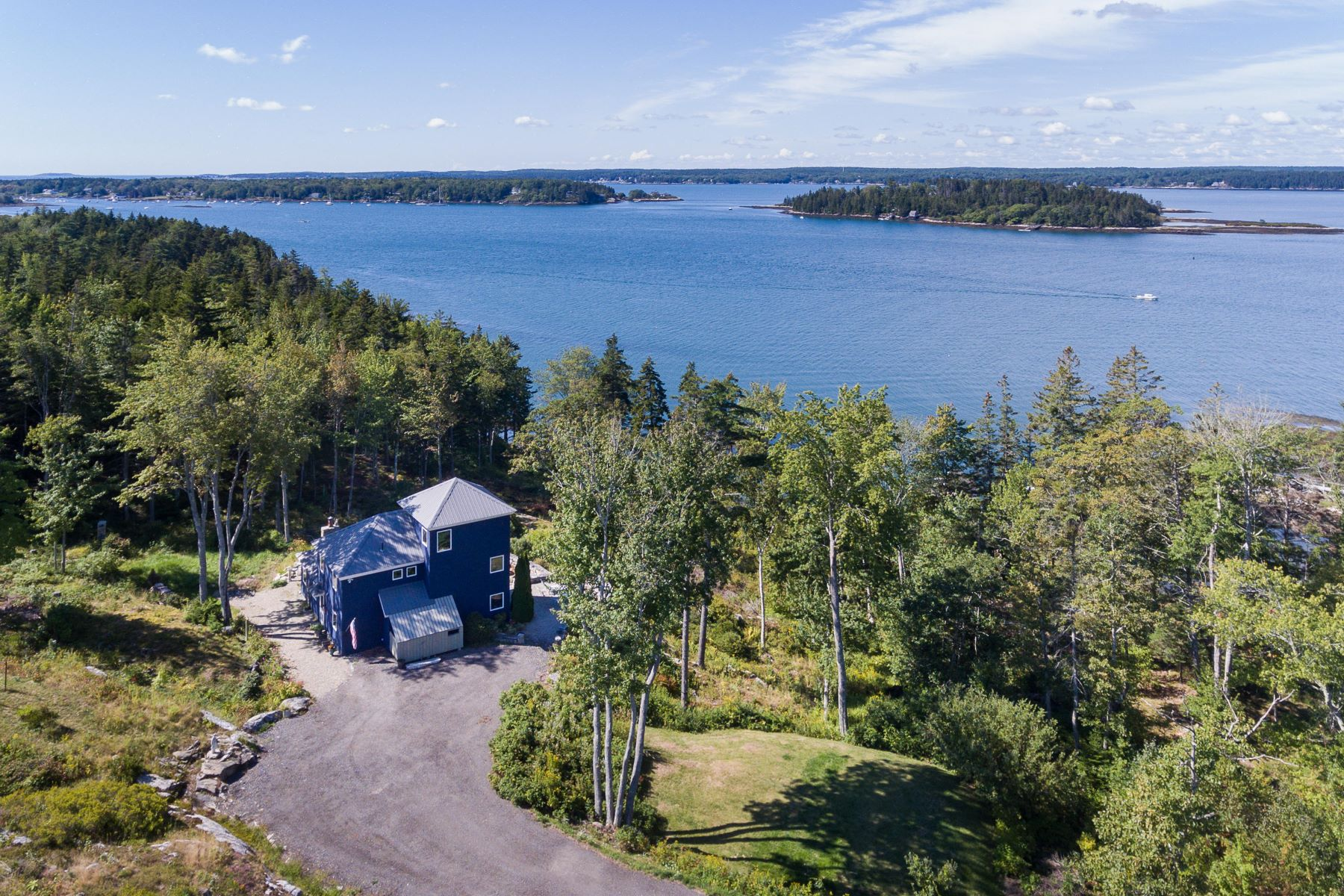 Single Family Homes for Sale at 92 Cameron Point Road Southport, Maine 04576 United States