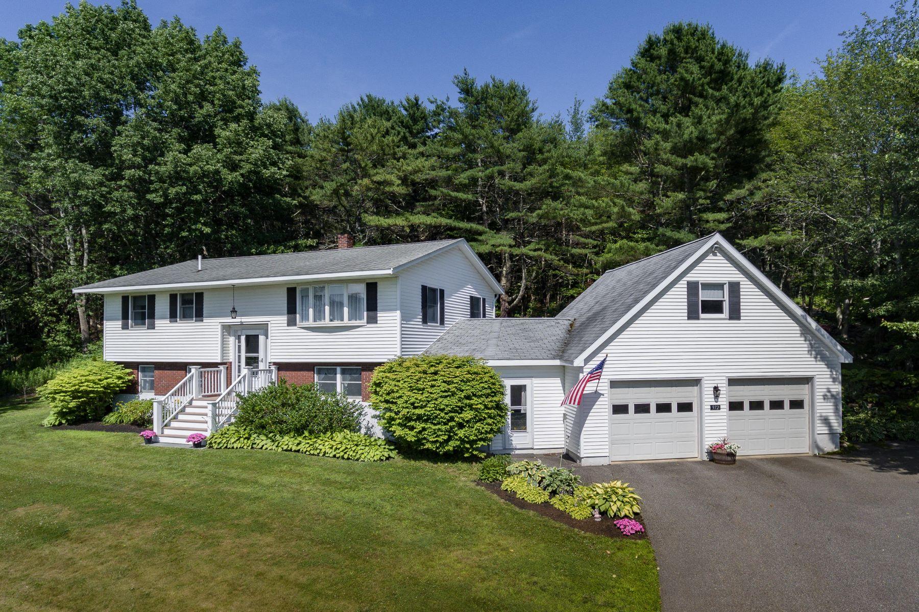 Single Family Homes por un Venta en 972 Wiscasset Road Boothbay, Maine 04537 Estados Unidos