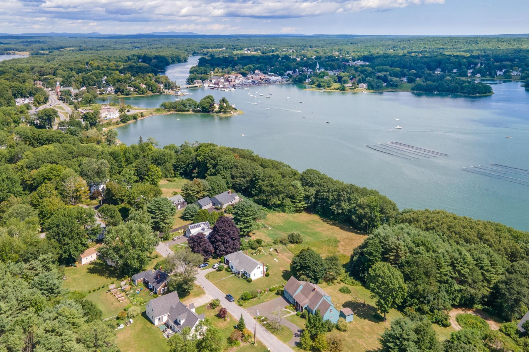 Single Family Homes for Active at 18 Pleasant Street Newcastle, Maine 04553 United States
