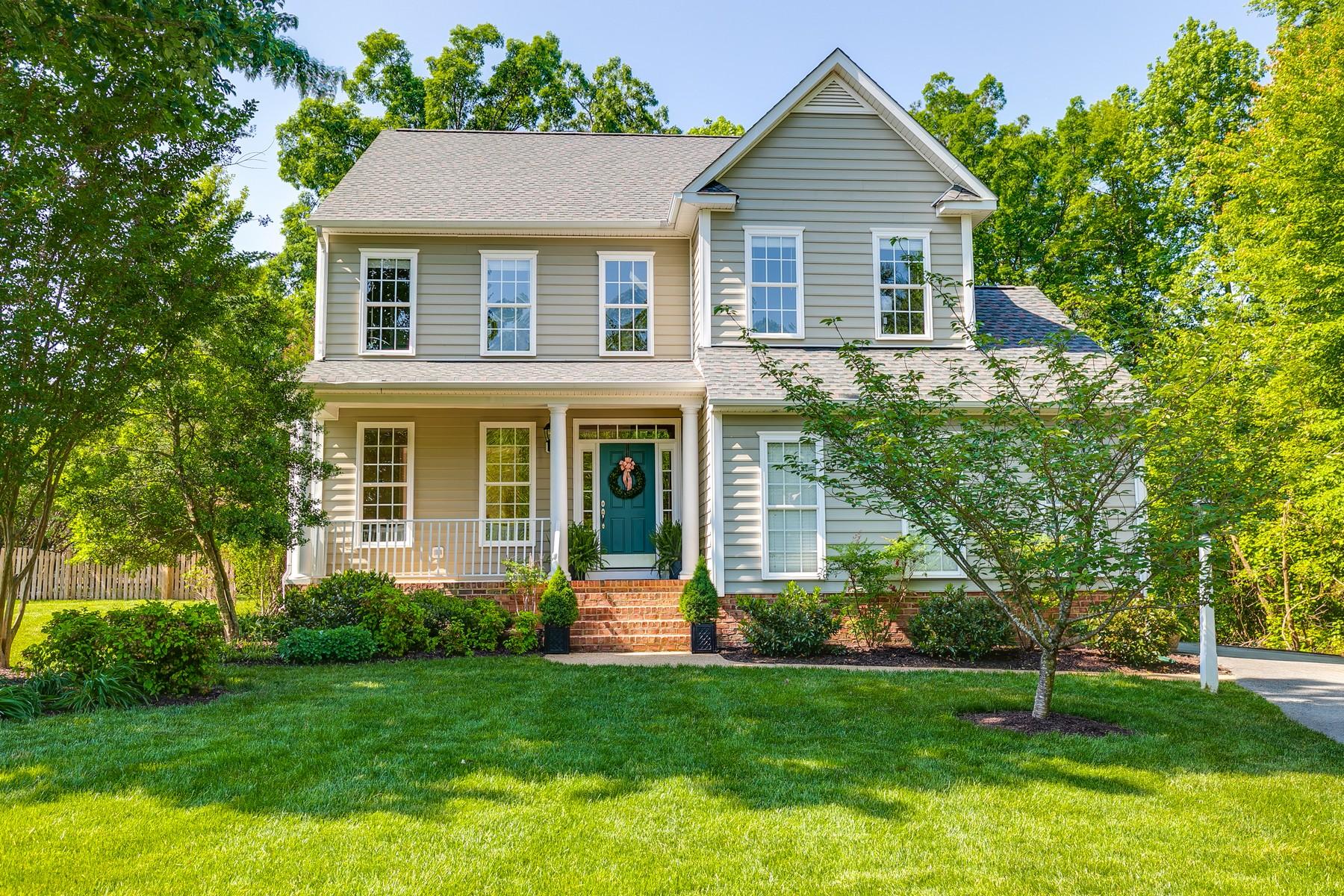 Single Family Homes для того Продажа на 5101 Windy Hollow Ct 5101 Windy Hollow Court Glen Allen, Виргиния 23059 Соединенные Штаты