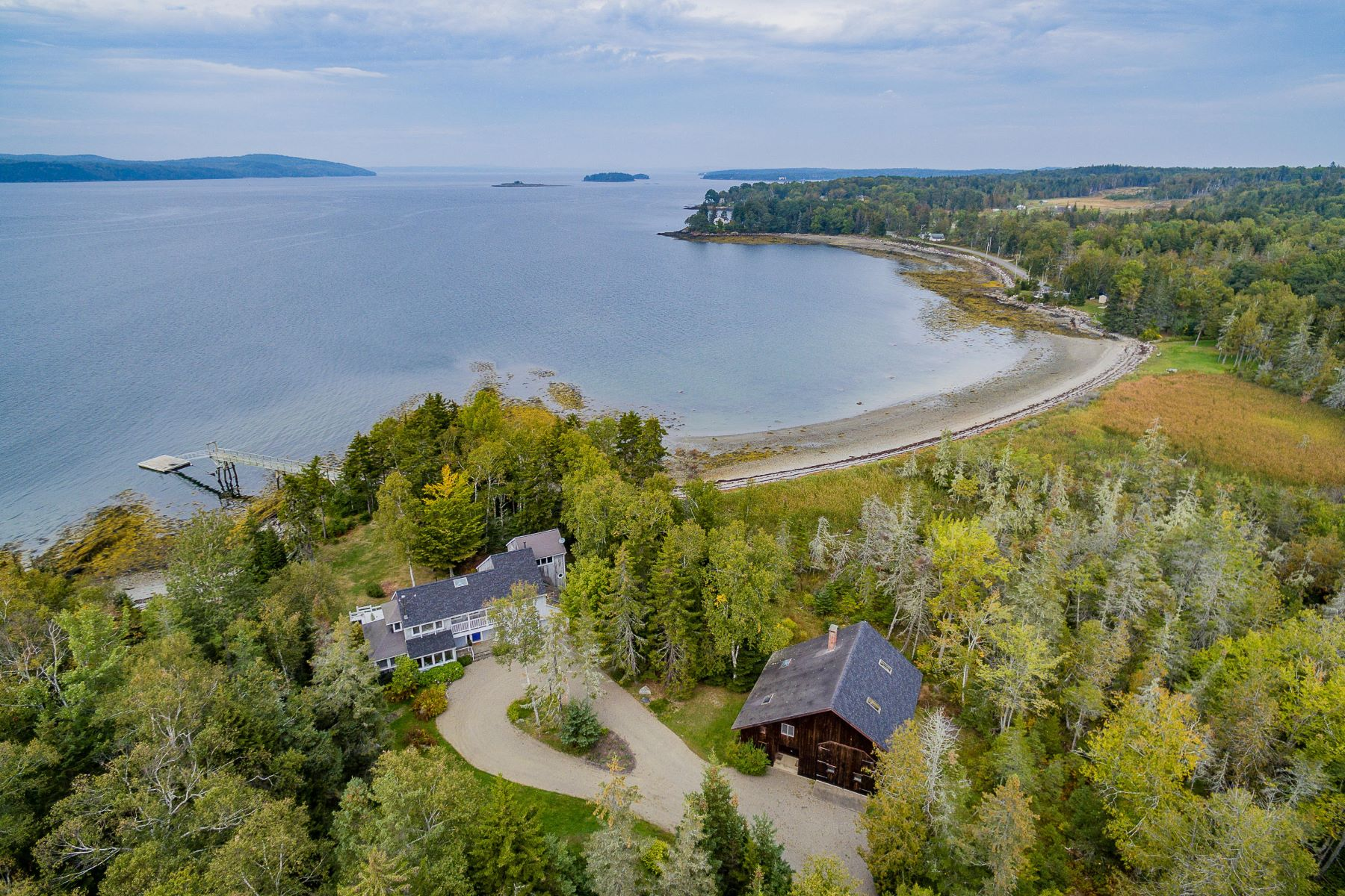 Single Family Homes for Active at 435 Ferry Road Islesboro, Maine 04848 United States