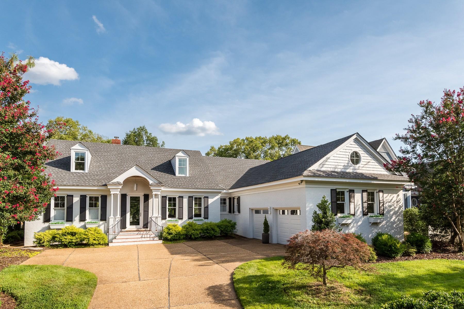 Single Family Homes por un Venta en 1592 Harbor Road, Governor's Land 1592 Harbor Road Williamsburg, Virginia 23185 Estados Unidos