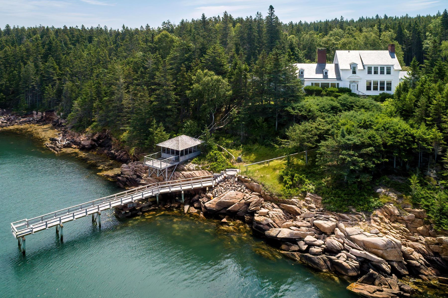 Single Family Homes for Active at 121 Sellers Rock Run Deer Isle, Maine 04627 United States
