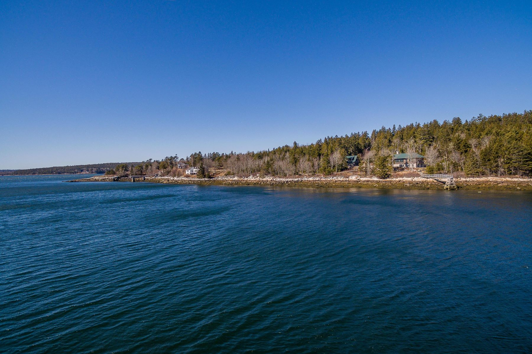Single Family Homes for Sale at On Morgan Bay Blue Hill, Maine 04614 United States