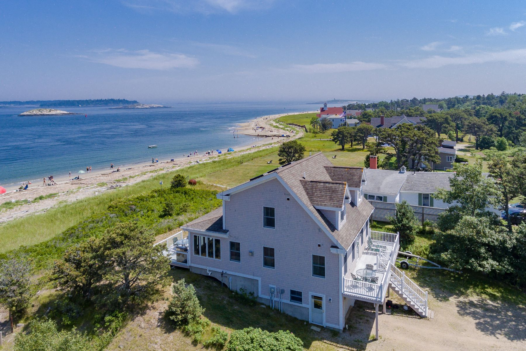 Single Family Homes for Active at 14 Sea Street Phippsburg, Maine 04562 United States