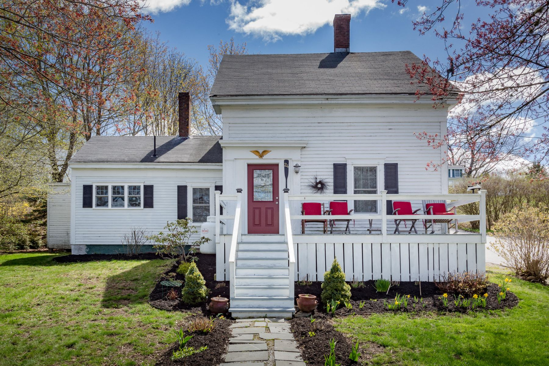 Single Family Homes for Active at 24 Atlantic Avenue Boothbay Harbor, Maine 04538 United States