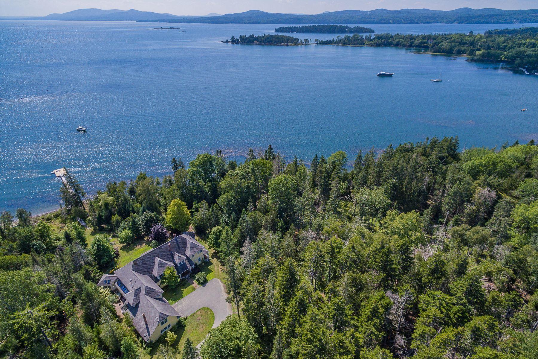 Single Family Homes for Active at 134 Big Tree Lane Islesboro, Maine 04848 United States