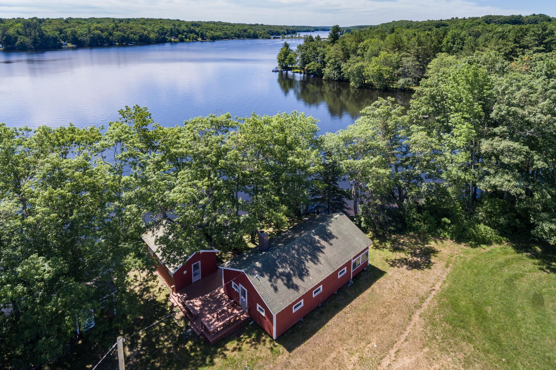 Single Family Homes for Active at 41 Pamrock Lane Litchfield, Maine 04350 United States