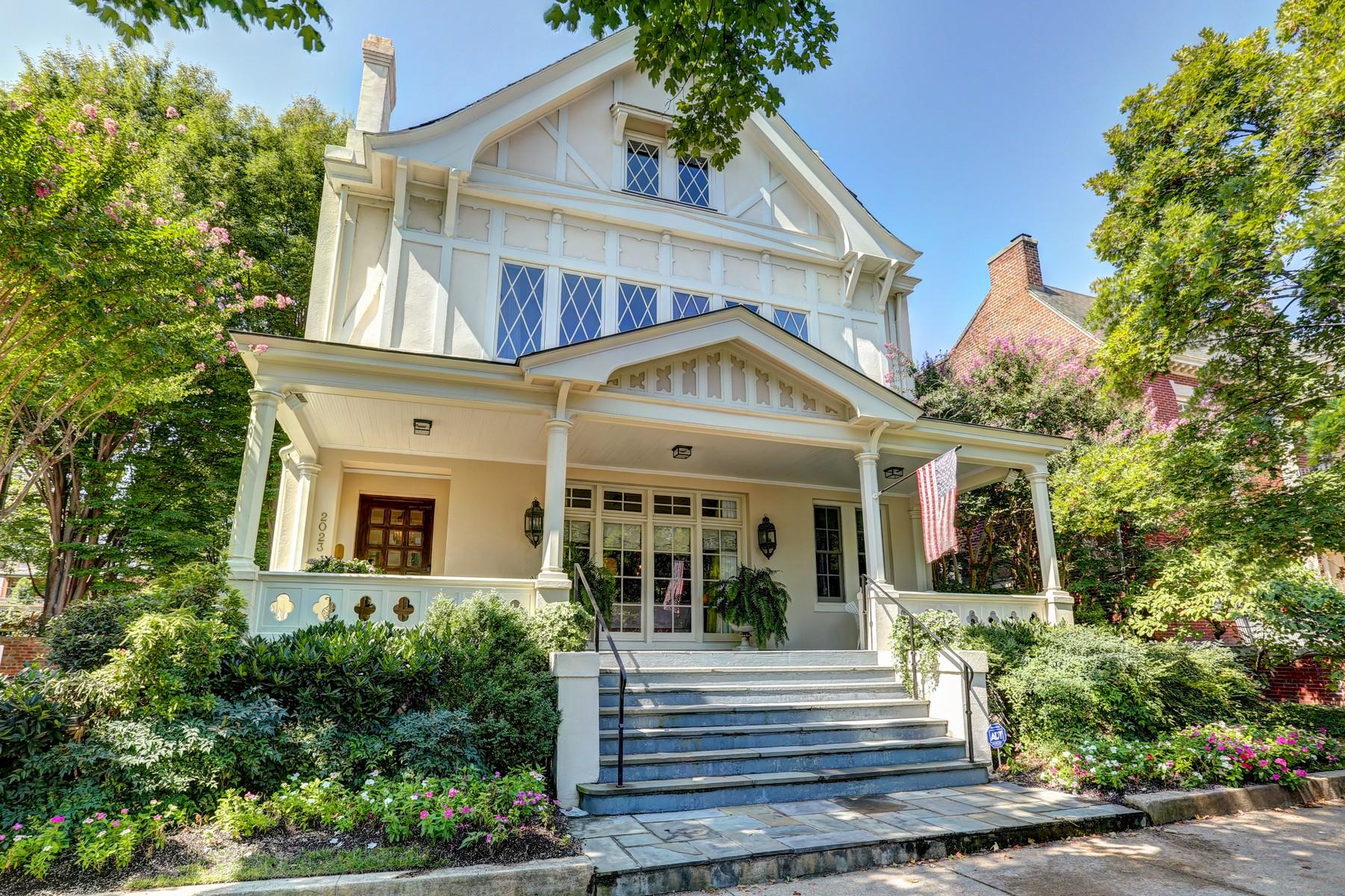 Single Family Homes pour l Vente à 2023 Monument Avenue Richmond, Virginia 23220 États-Unis