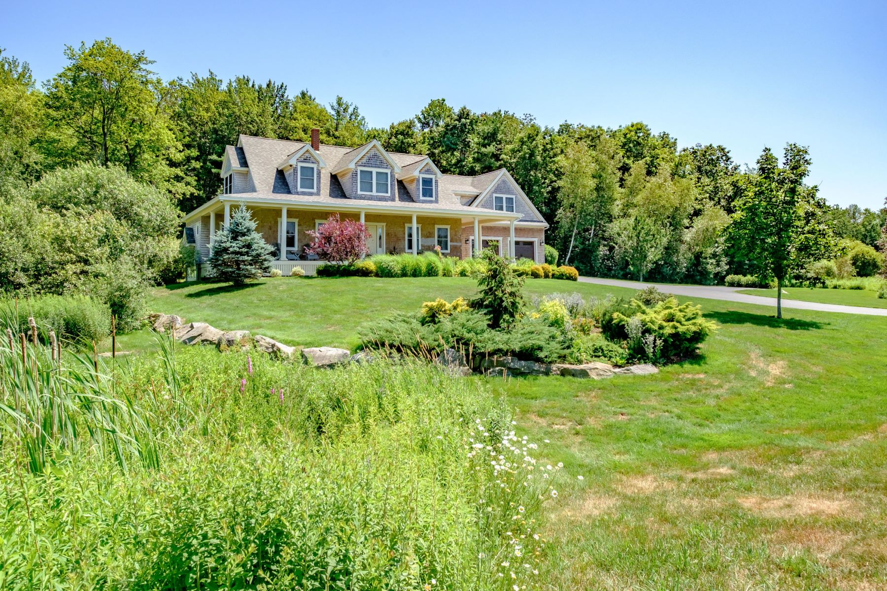 Single Family Homes for Sale at 17 Fieldstone Lane Falmouth, Maine 04105 United States