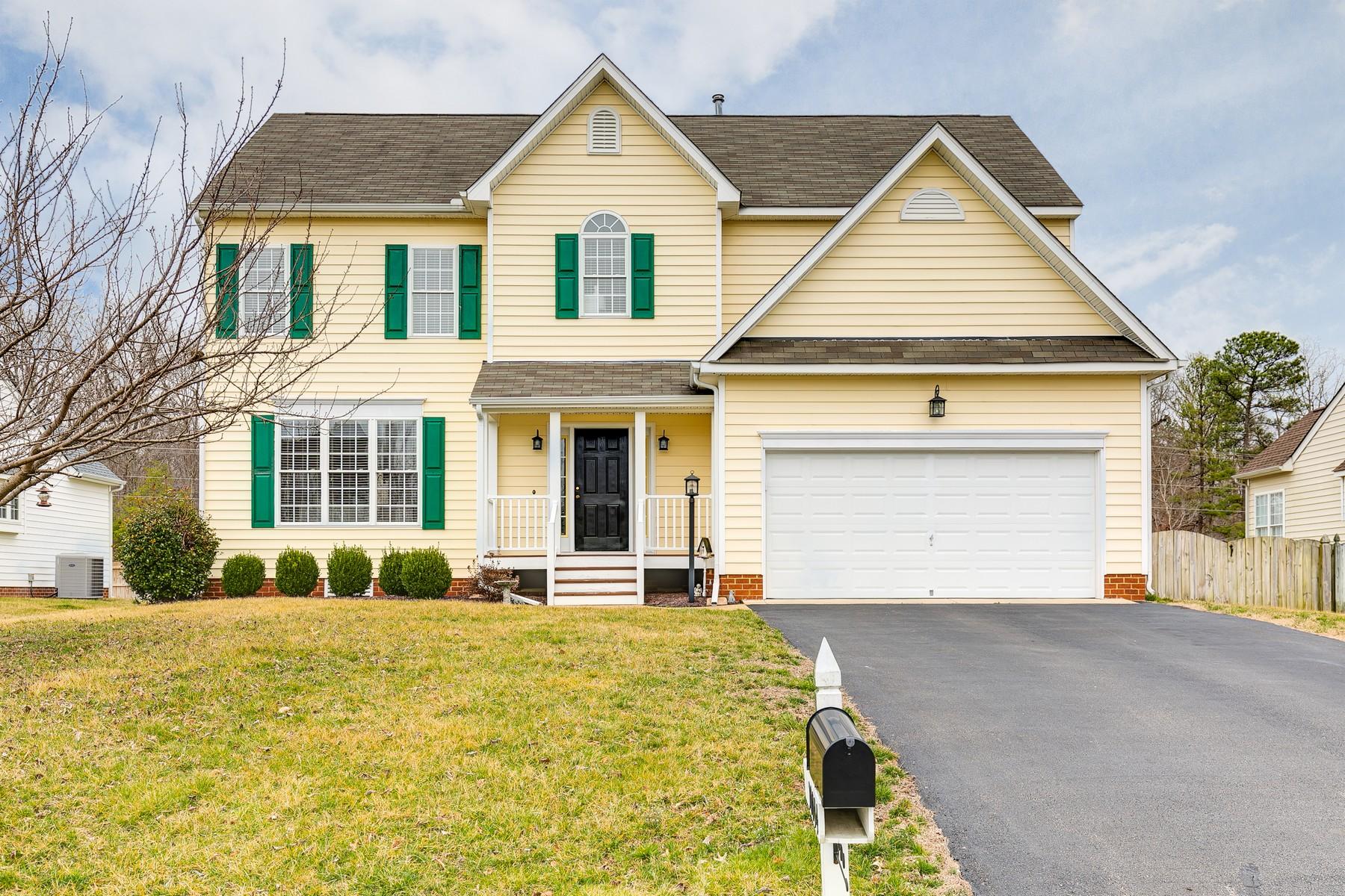 single family homes для того Продажа на 10044 Doe Run Place Mechanicsville, Виргиния 23116 Соединенные Штаты