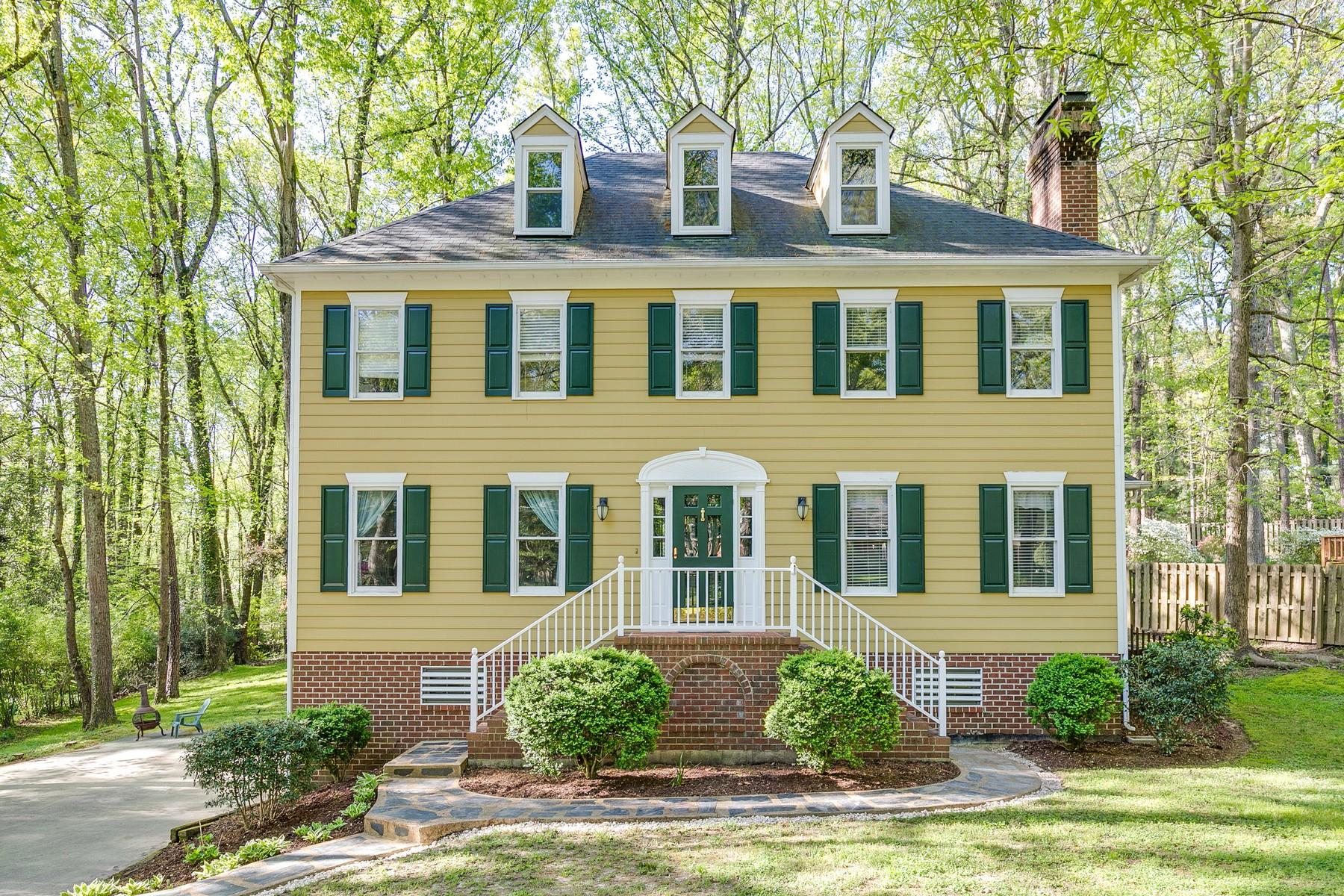 Частный односемейный дом для того Продажа на 10321 Apache Road Richmond, Виргиния 23235 Соединенные Штаты
