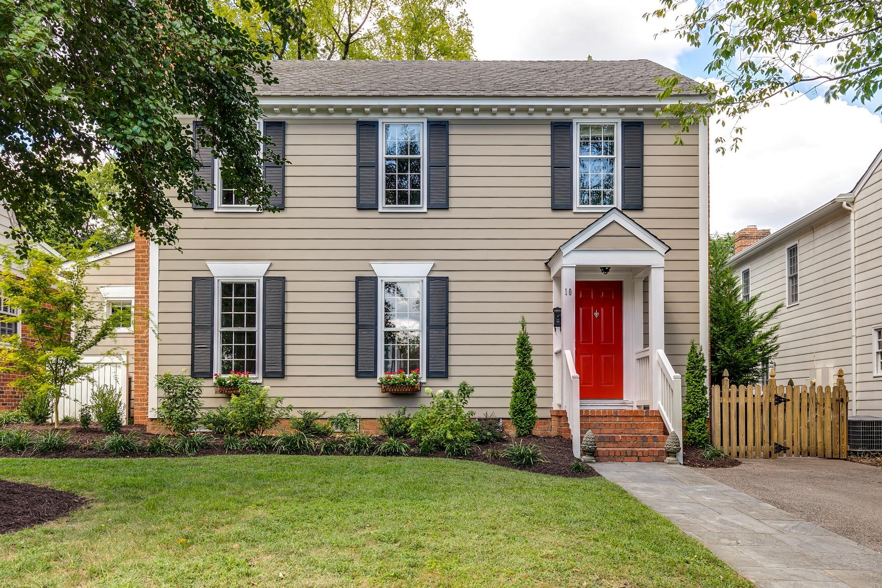 Single Family Homes pour l Vente à Stonewall Court 10 Albemarle Avenue Richmond, Virginia 23226 États-Unis