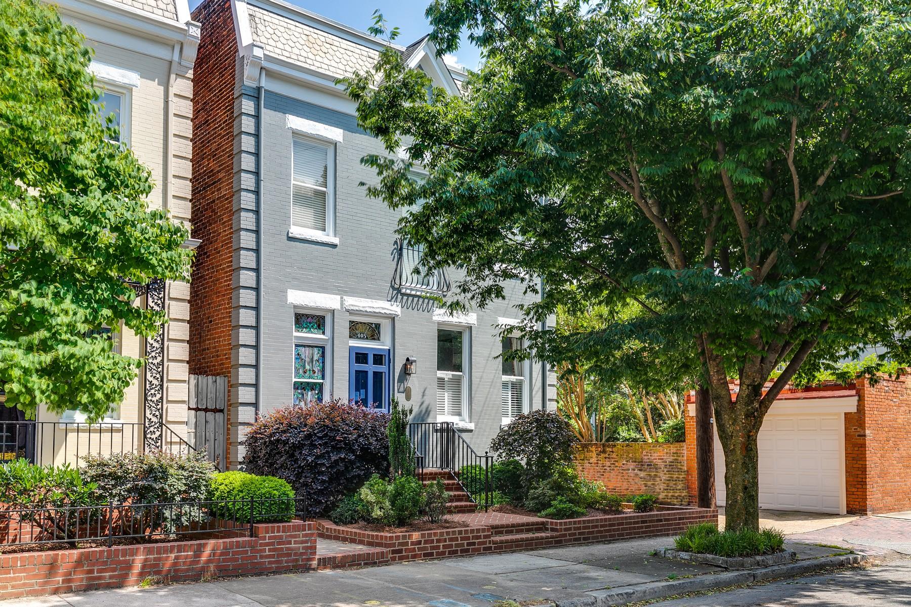 Частный односемейный дом для того Продажа на 405 N. Shields Avenue Richmond, Виргиния 23220 Соединенные Штаты