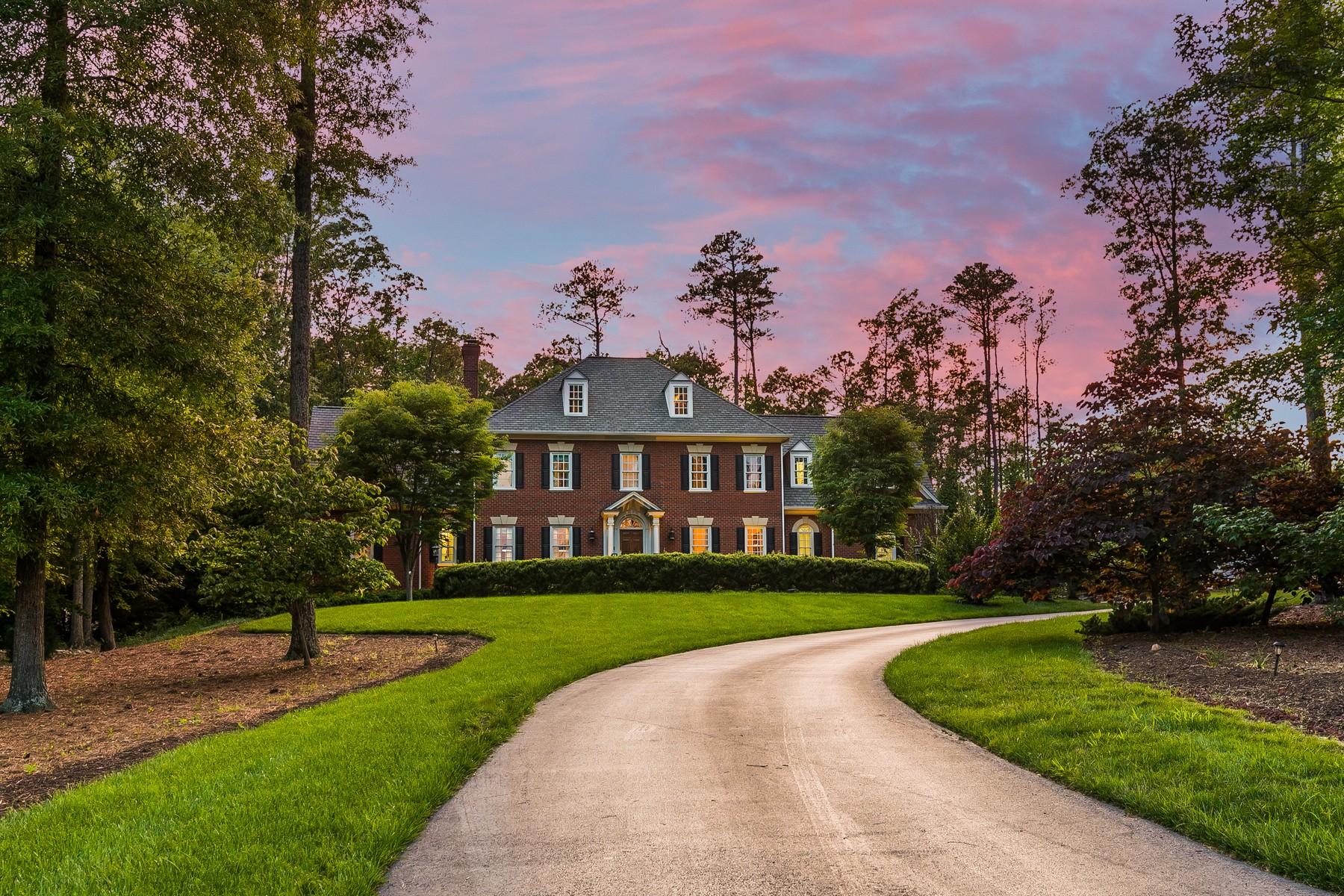 Частный односемейный дом для того Продажа на 309 Wickham Glen Drive Richmond, Виргиния 23238 Соединенные Штаты