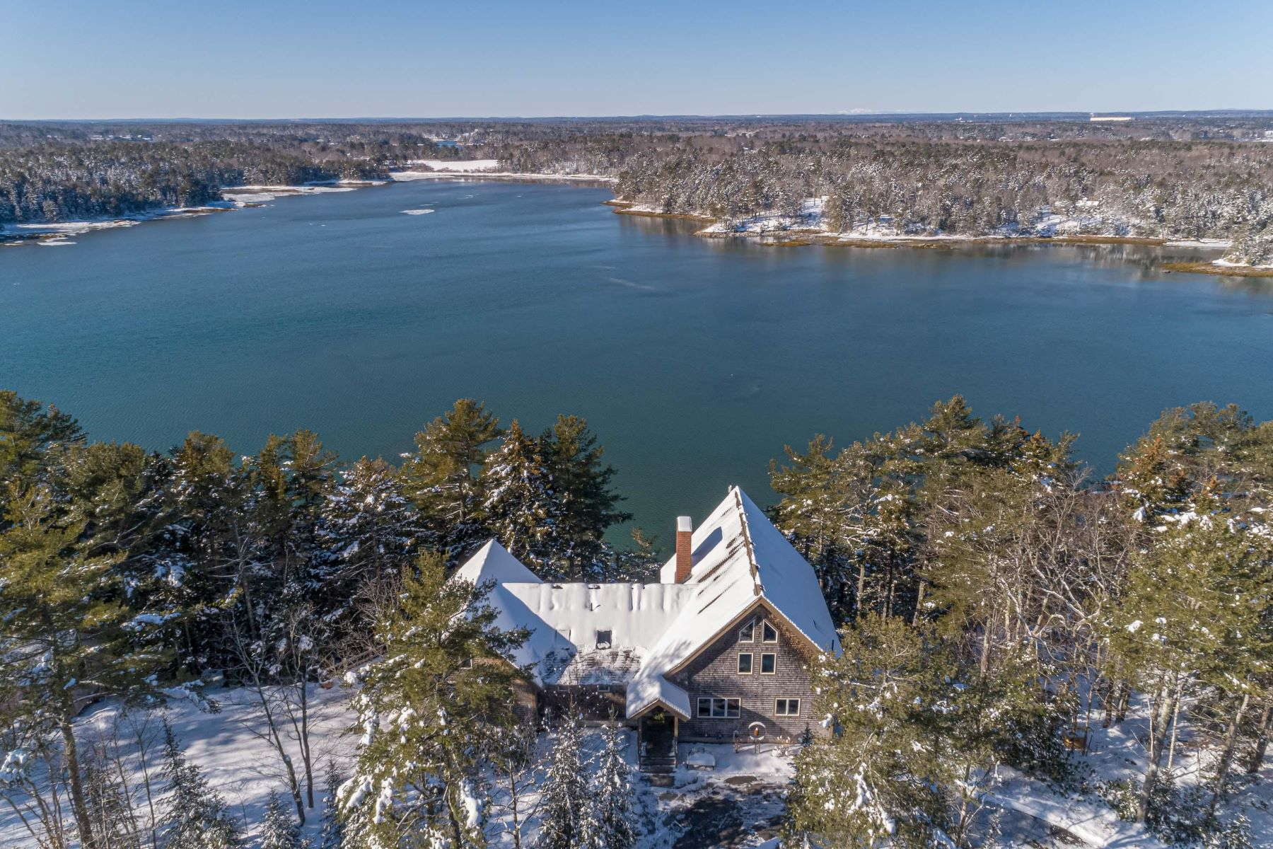Single Family Homes for Sale at 43 Harbor Ridge Road West Bath, Maine 04530 United States