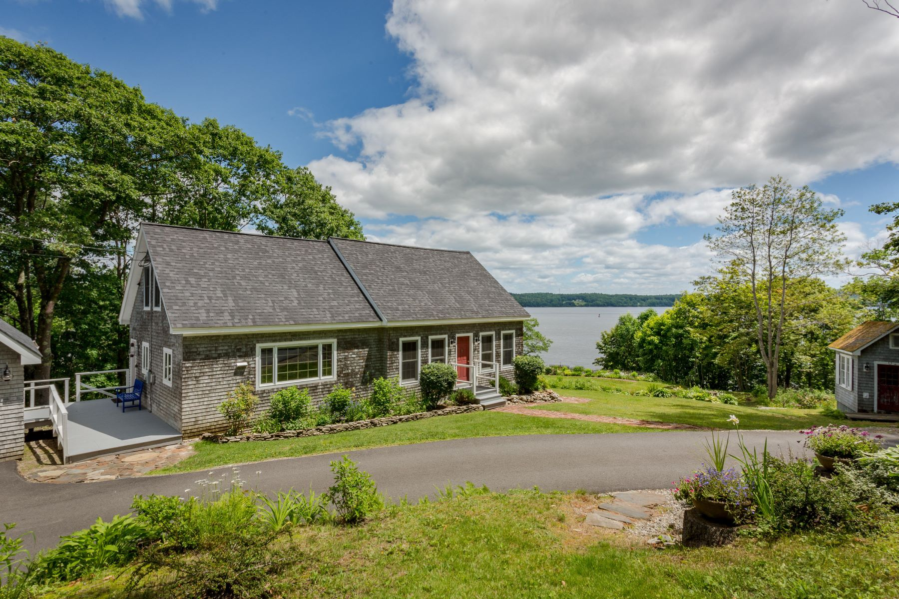 Single Family Homes for Active at 32 Hersey Retreat Road Stockton Springs, Maine 04981 United States