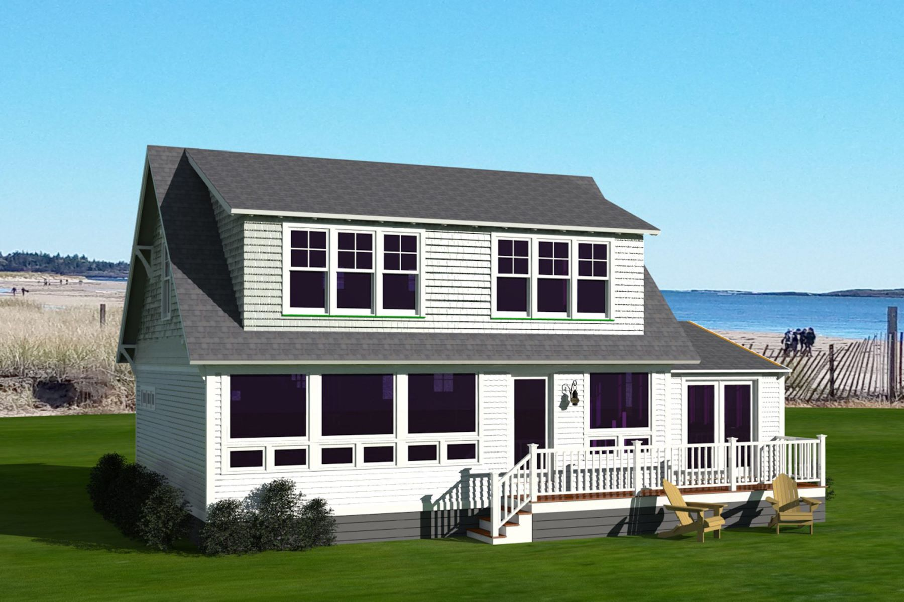Single Family Homes for Sale at 39 Driftwood Lane 11, Phippsburg, Maine 04562 United States