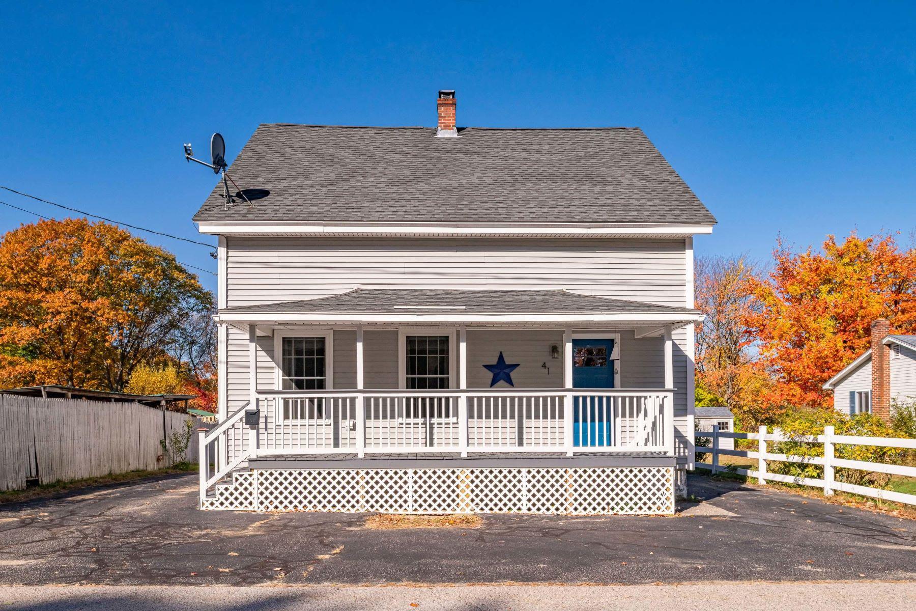 Single Family Homes for Active at 41 Glenwood Avenue Saco, Maine 04072 United States