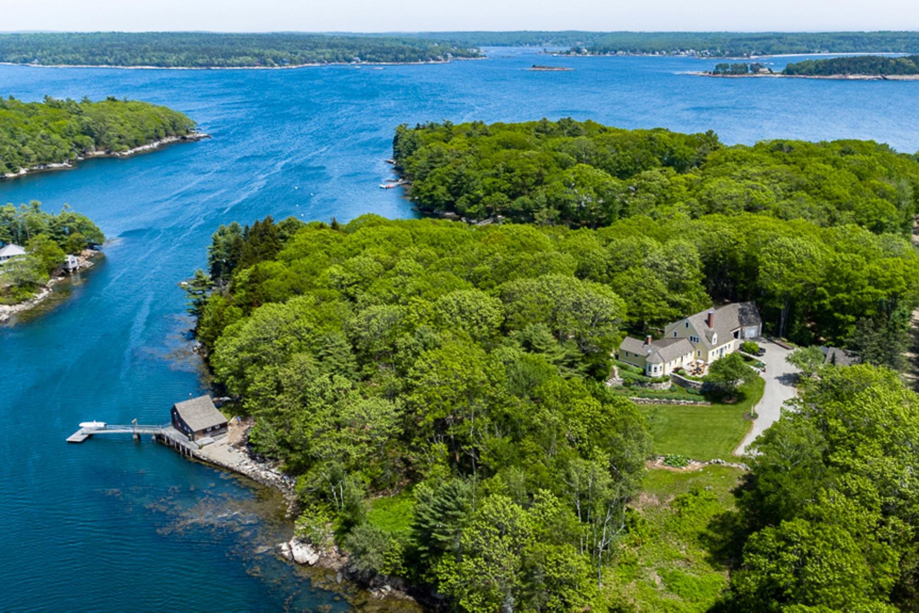 Single Family Homes for Sale at 80 John Gay Road South Bristol, Maine 04568 United States