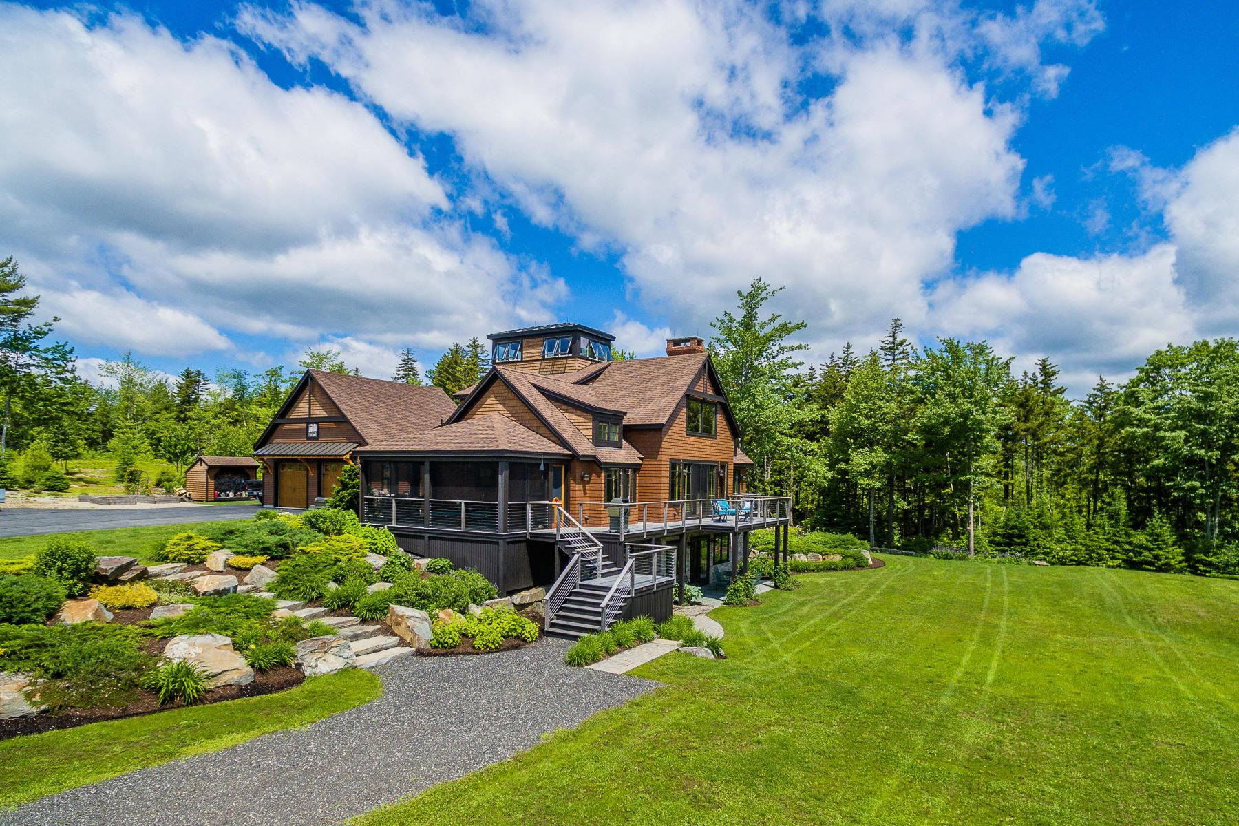 Single Family Homes for Active at 173 Stones Point Road Cushing, Maine 04563 United States