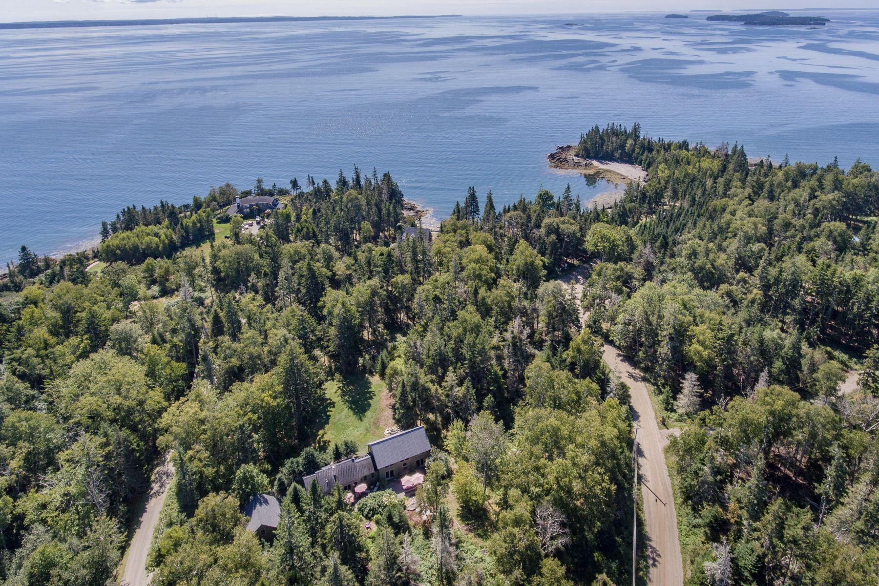 Single Family Homes for Active at 147 Jenny's Lane Islesboro, Maine 04848 United States