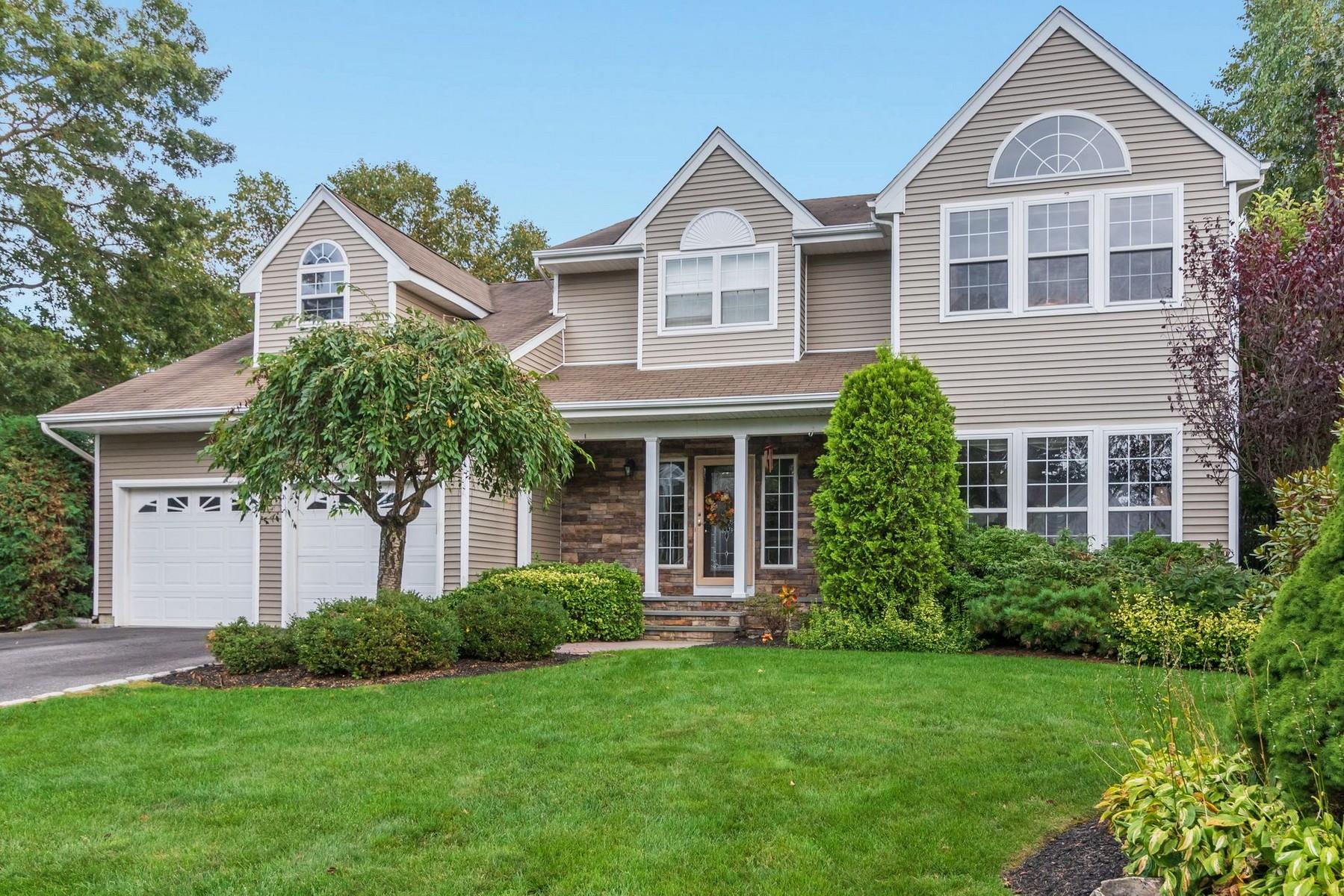 Single Family Homes for Sale at S. Setauket 8 Hancock Ct Centereach, New York 11720 United States