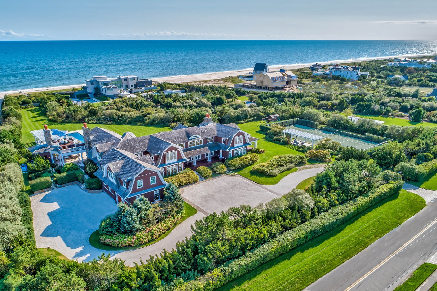 Single Family Homes for Sale at Quogue 168 Dune Rd Quogue, New York 11959 United States