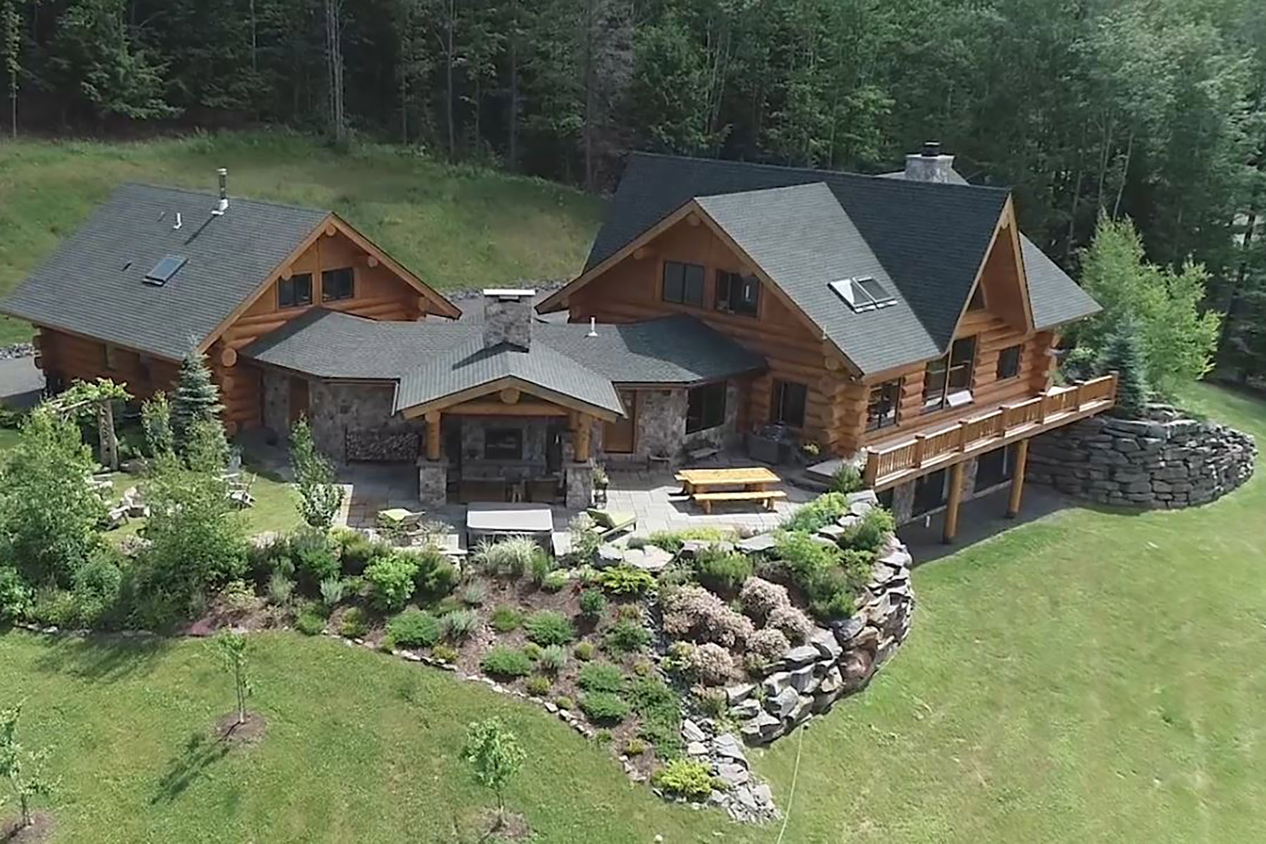Single Family Homes for Sale at Out Of Area Town 97 Legendary Lane Windham, New York 12496 United States