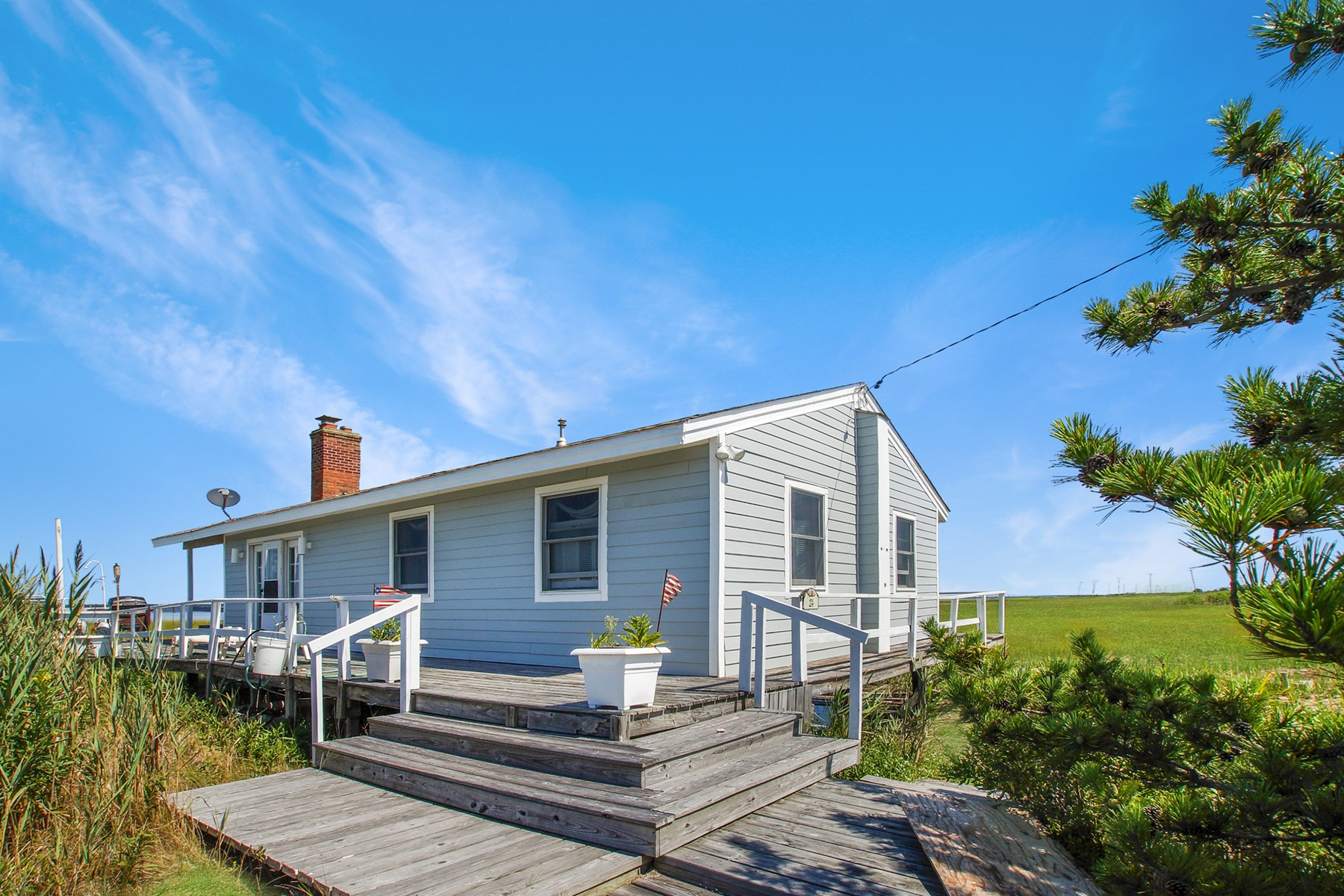 Single Family Homes por un Venta en E. Quogue 24 Dune Road East Quogue, Nueva York 11942 Estados Unidos
