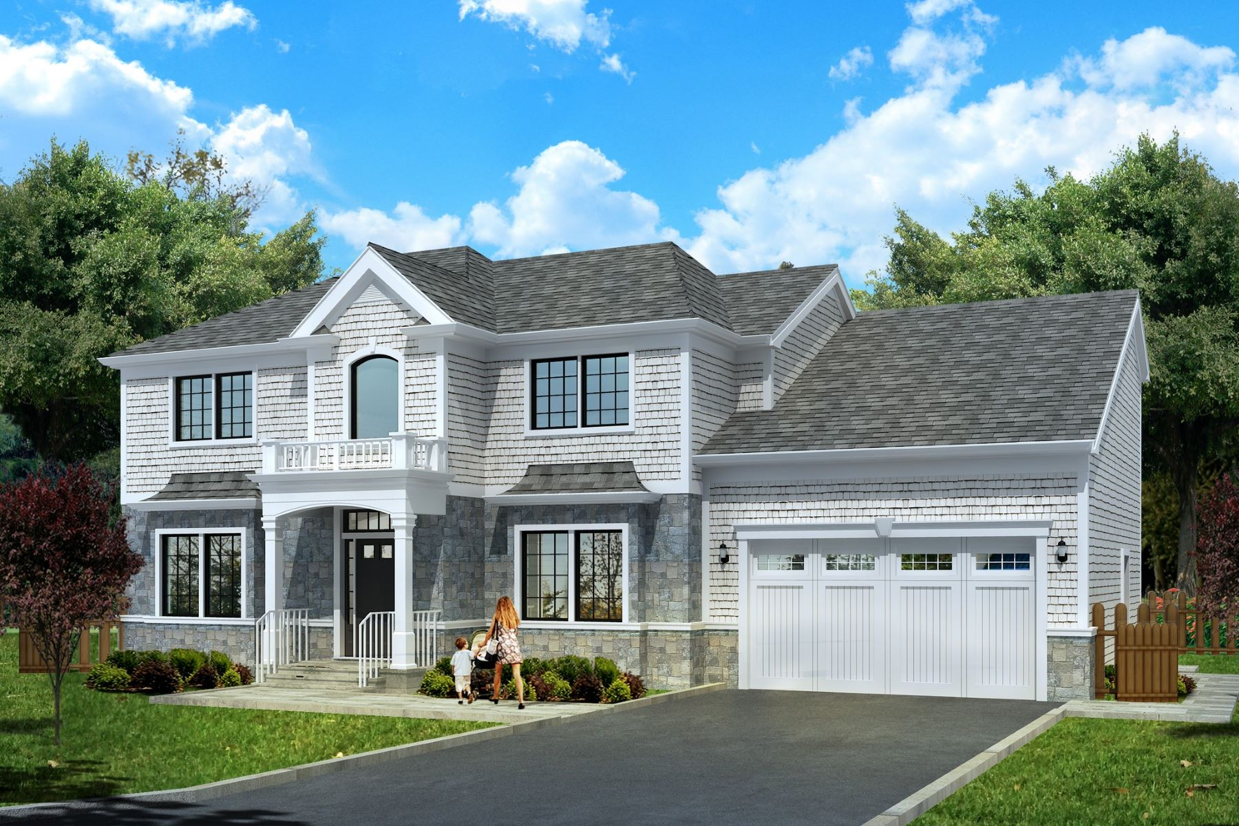 Single Family Homes for Sale at Roslyn Heights 6 West Court Roslyn Heights, New York 11577 United States