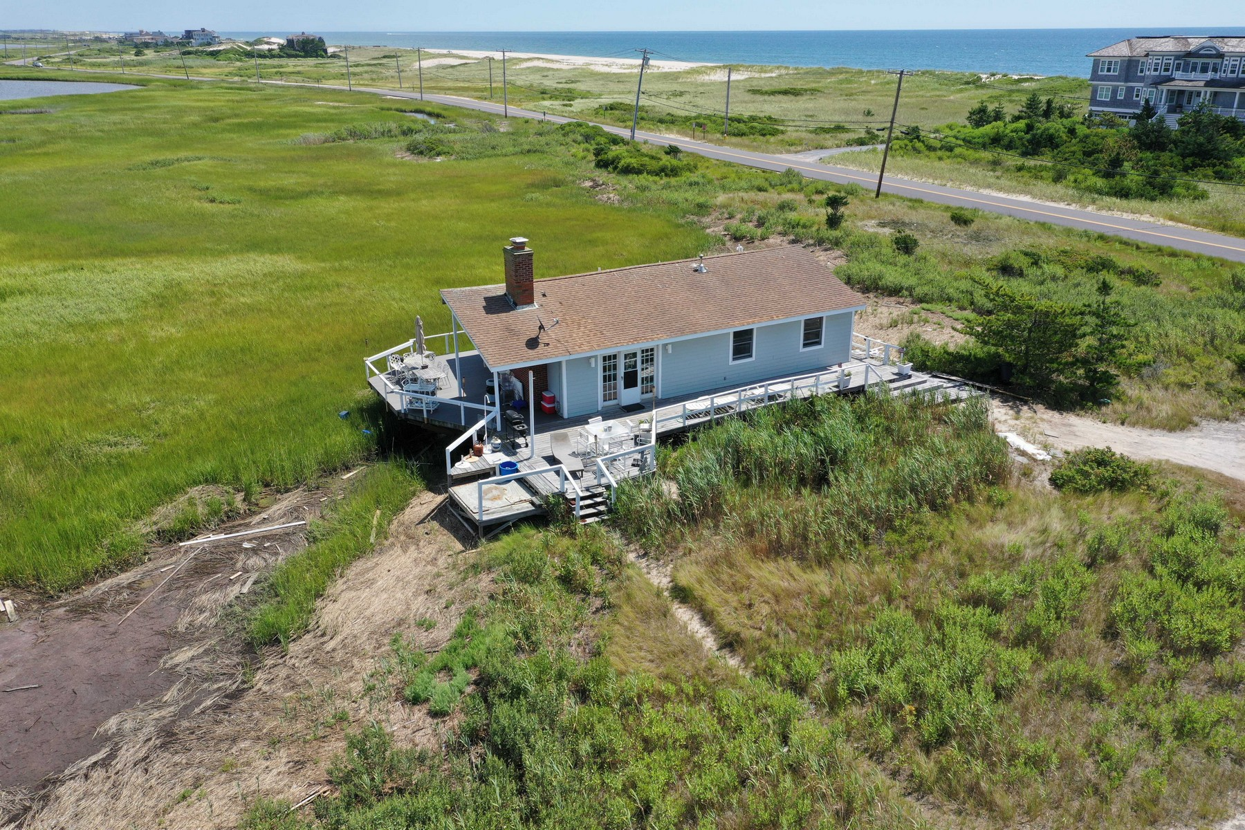 Single Family Homes för Försäljning vid E. Quogue 24 Dune Rd, East Quogue, New York 11942 Förenta staterna
