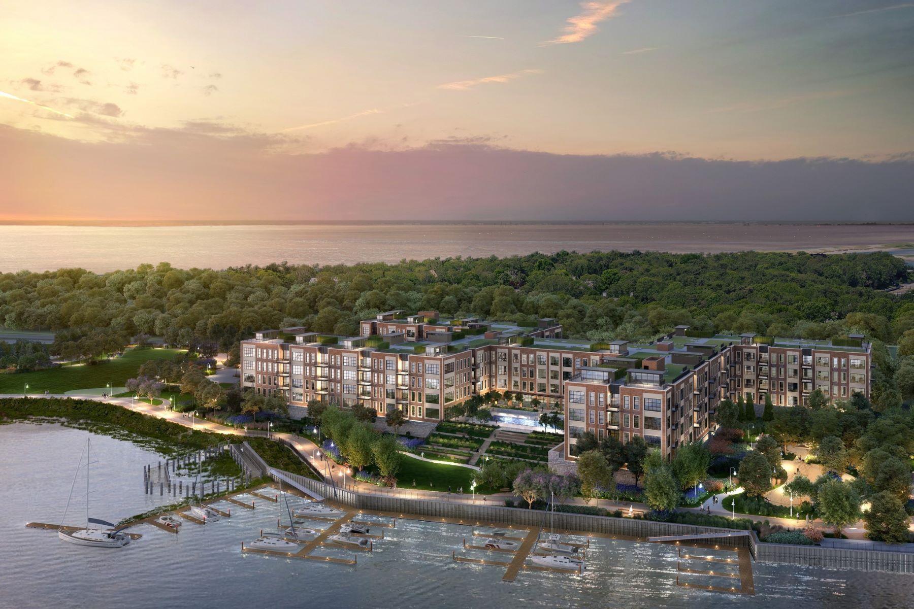 Condominiums för Försäljning vid Glen Cove 100 Garvies Point Rd , 1304, Glen Cove, New York 11542 Förenta staterna